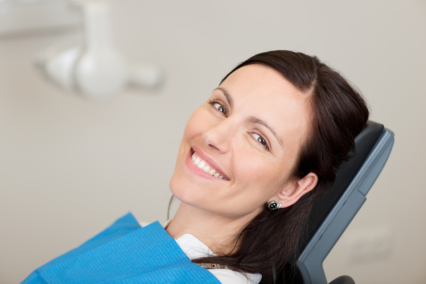 patient relaxed about oral surgery